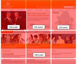 Web Designing Page Divison