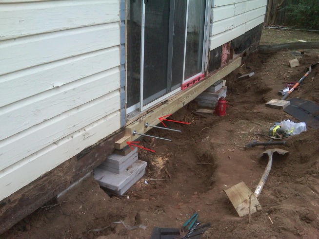Machinery Used For Repairing Home Foundation