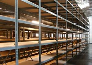Industrial Steel Shelving