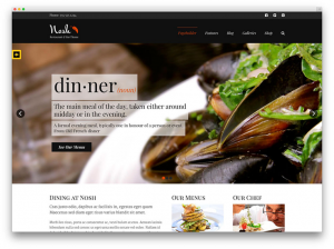 Description Of Classy Restaurant Directory Theme
