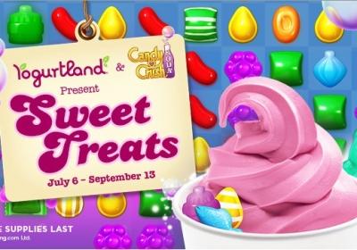Yogurtland Candy Crush Saga