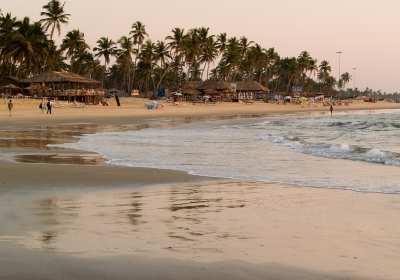 Colva - A Popular Beach Resort In Goa Featuring 2.4 km Long Beautiful Beach
