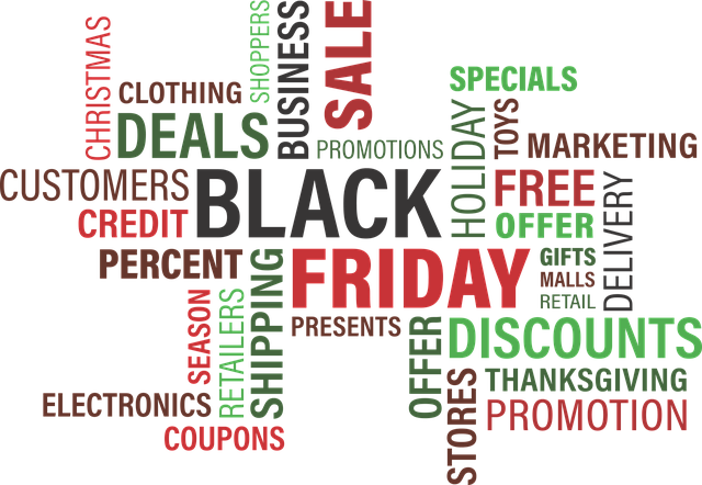 black friday buzz words