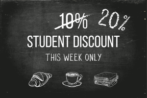 The Best Discounts and Deals Available to University or College Students