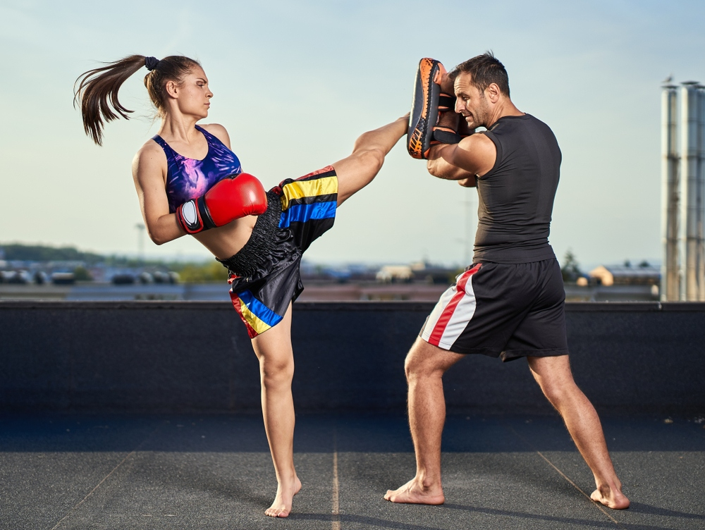 Suwitmuaythai is a Business Model of Muay Thai with Fitness Program