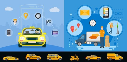 Combine The Power Of Taxi App and Delivery App In to A Single Business Solution
